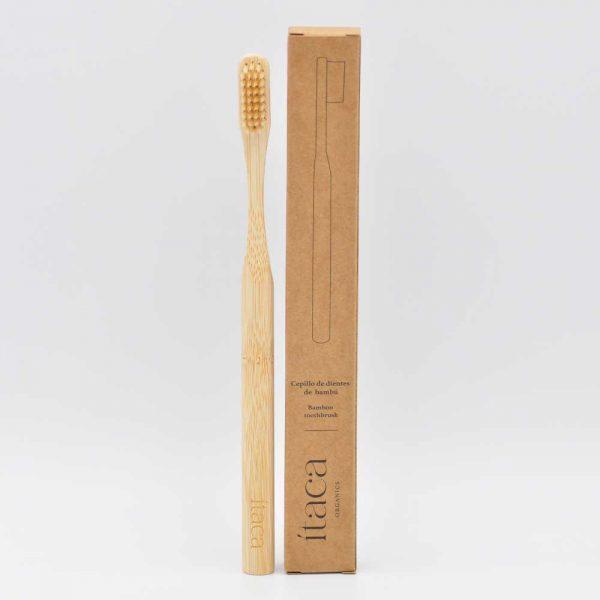 Cepillo de dientes bambú adulto