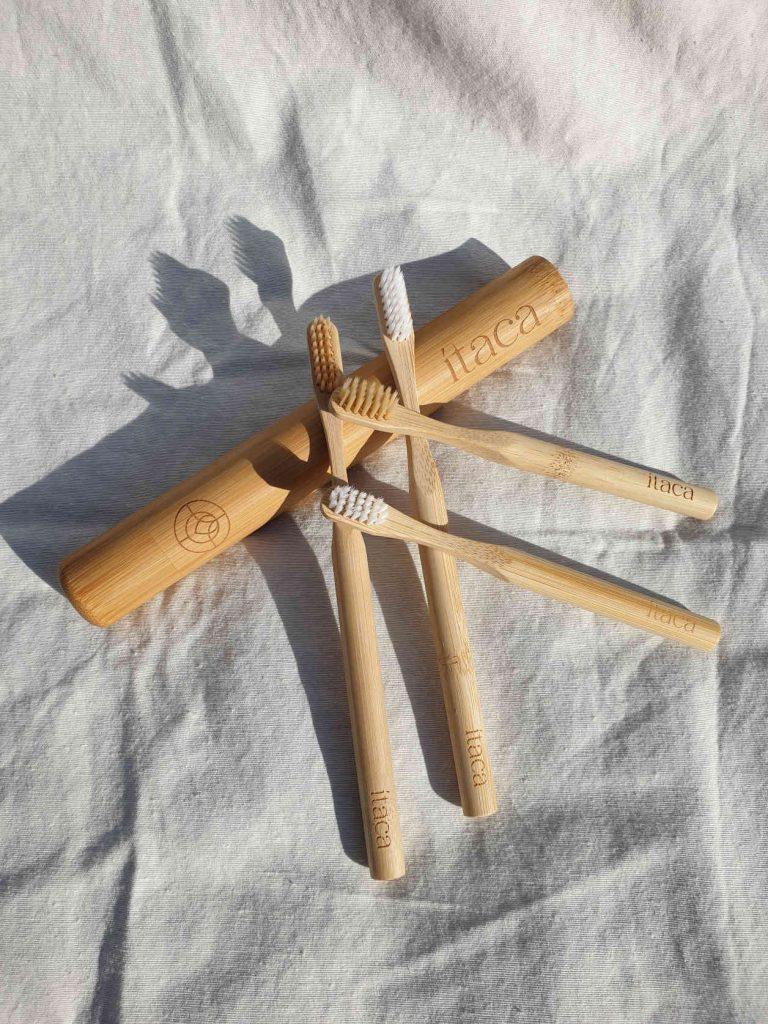 Cepillo dientes bambu itaca organics